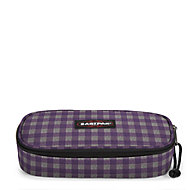 Oval Checksange Purple